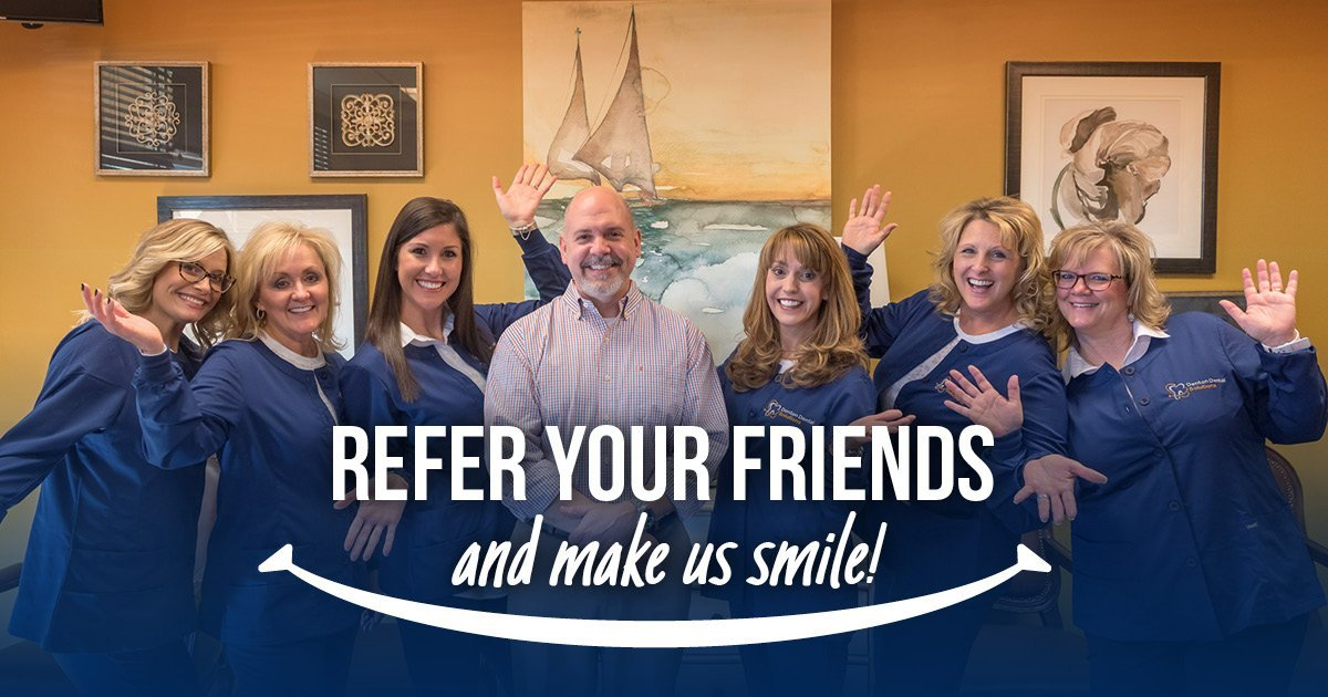 Refer your friends and make us smile!